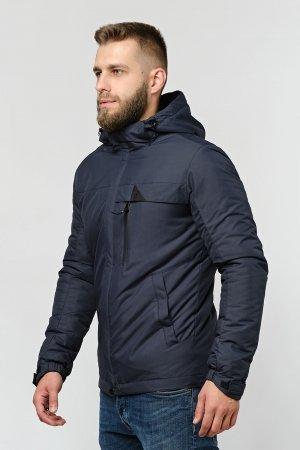 Чоловіча демісезонна куртка синього кольору