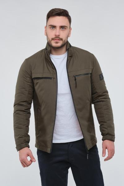 Чоловіча демісезонна куртка, колір хакі.
