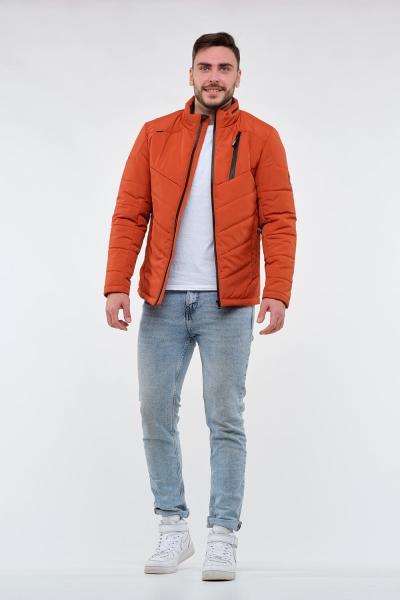Чоловіча демісезонна куртка, колір помаранчевий